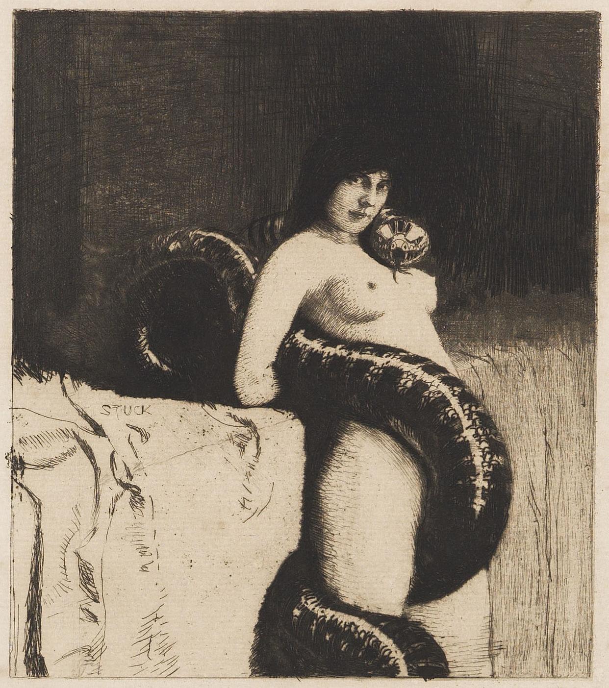 Die Sinnlichkeit, Franz von Stuck, 1889