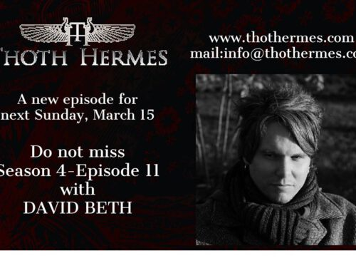 David Beth on Thoth Hermes podcast, March 15th