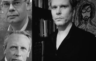 Paul Bishop (upper left), Ludwig Klages (bottom left), David Beth (right)