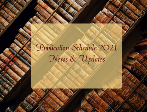 Publication Schedule 2021